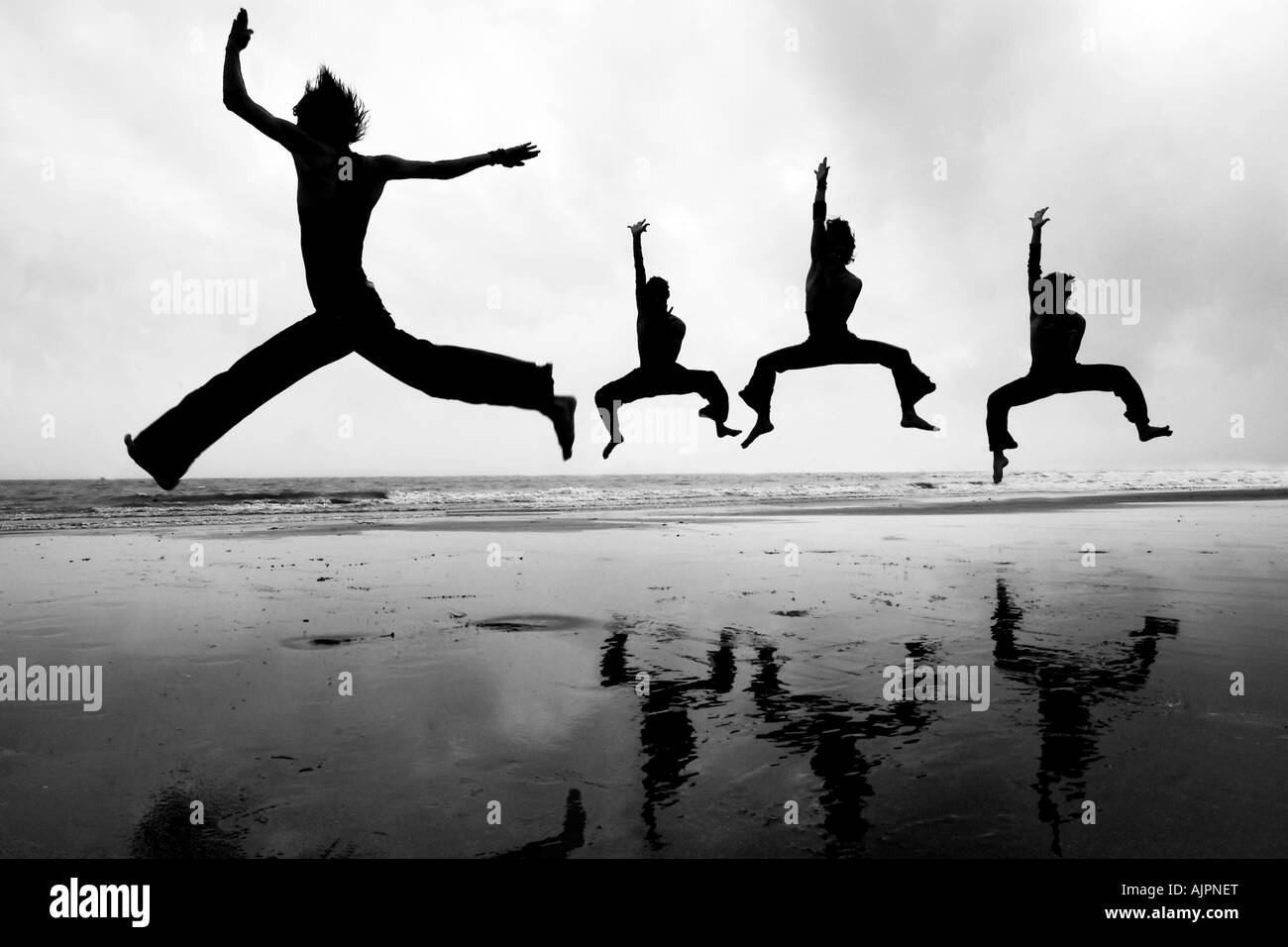 A dance troupe performing - Stock Image
