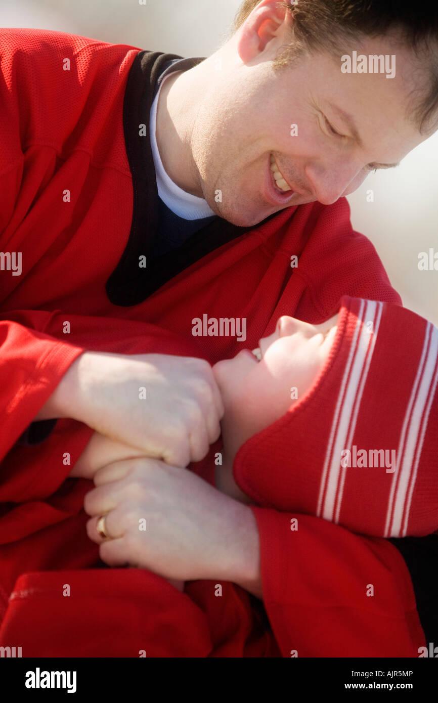 Male bonding - Stock Image