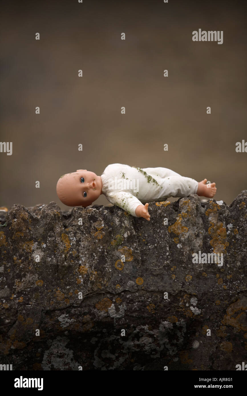 lost doll - Stock Image