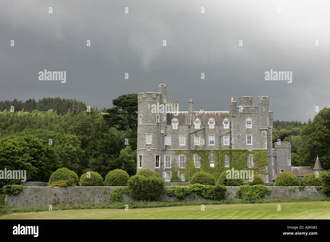 Castlewellan Castle Castlewellan Forest Park County Down Northern Ireland - Stock Image