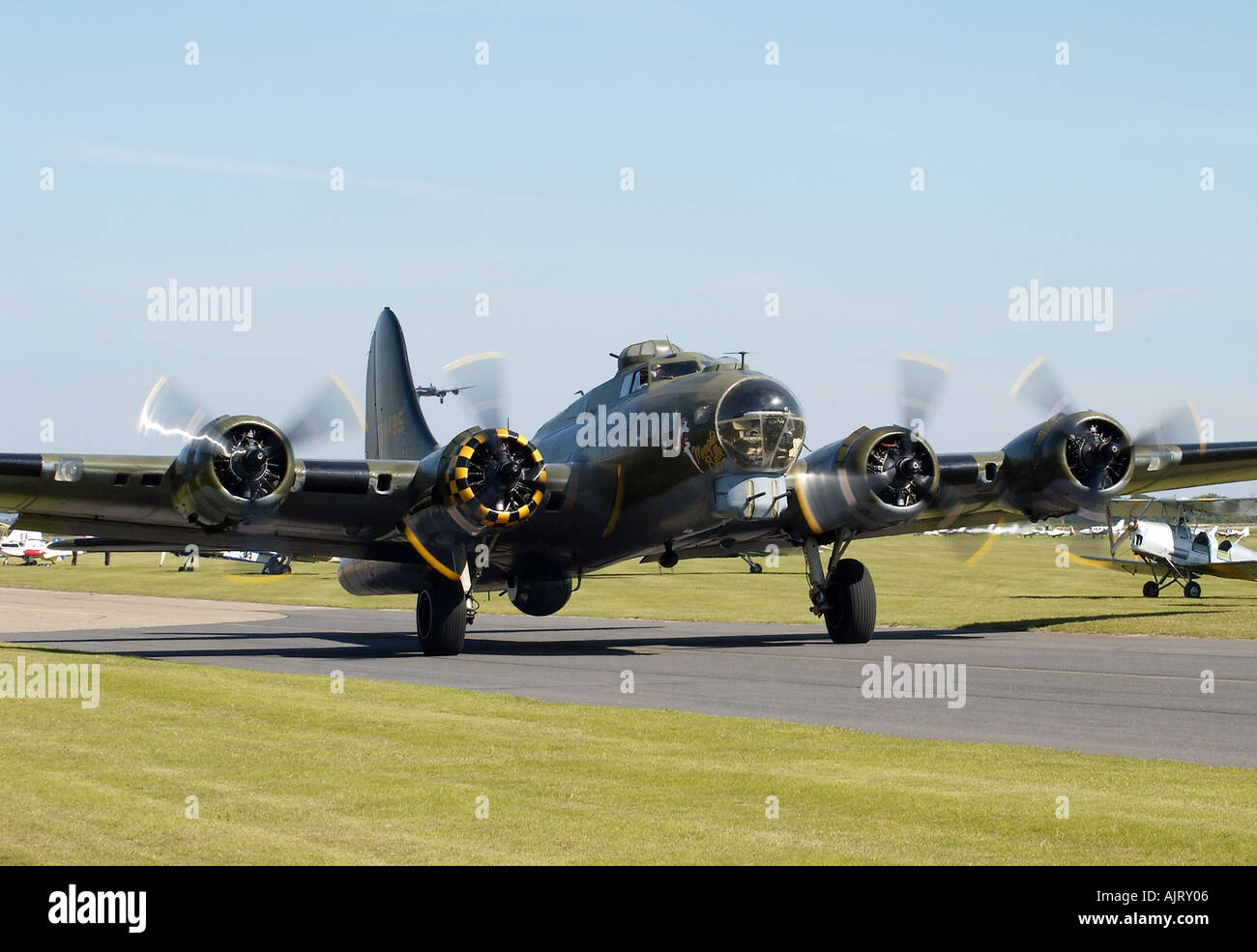 WW2 B17 Flying Fortress - Stock Image