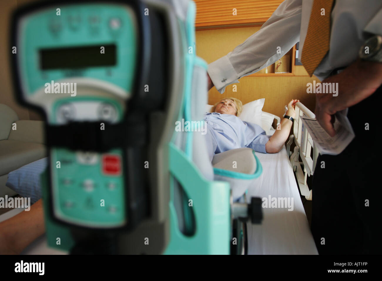 Shirley Anderson was on holidays in China when she had a accident and was evacuated to The Bangkok Hospital Bangkok, - Stock Image