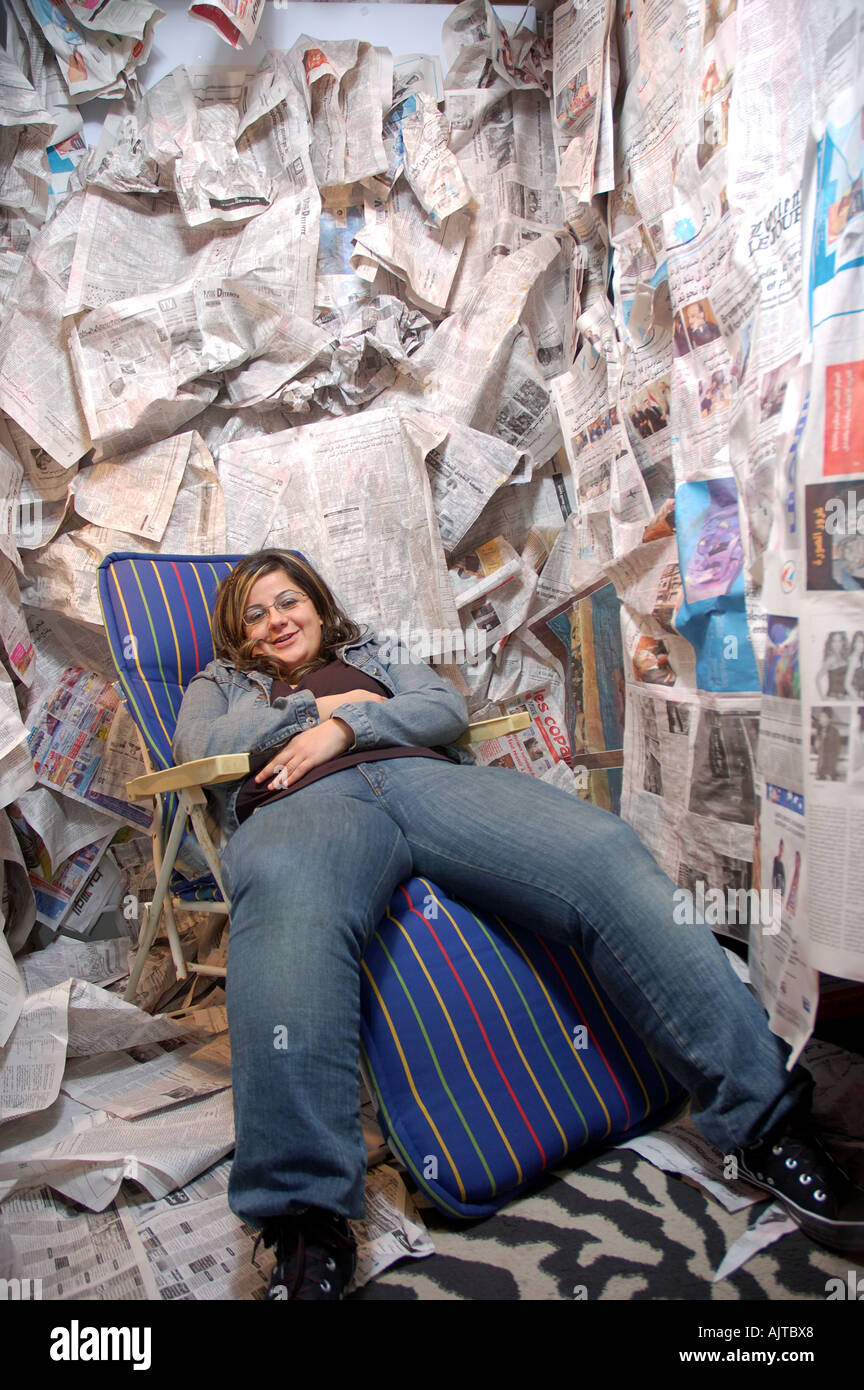 having too much fatty politic recent life and events reports daily issued - Stock Image