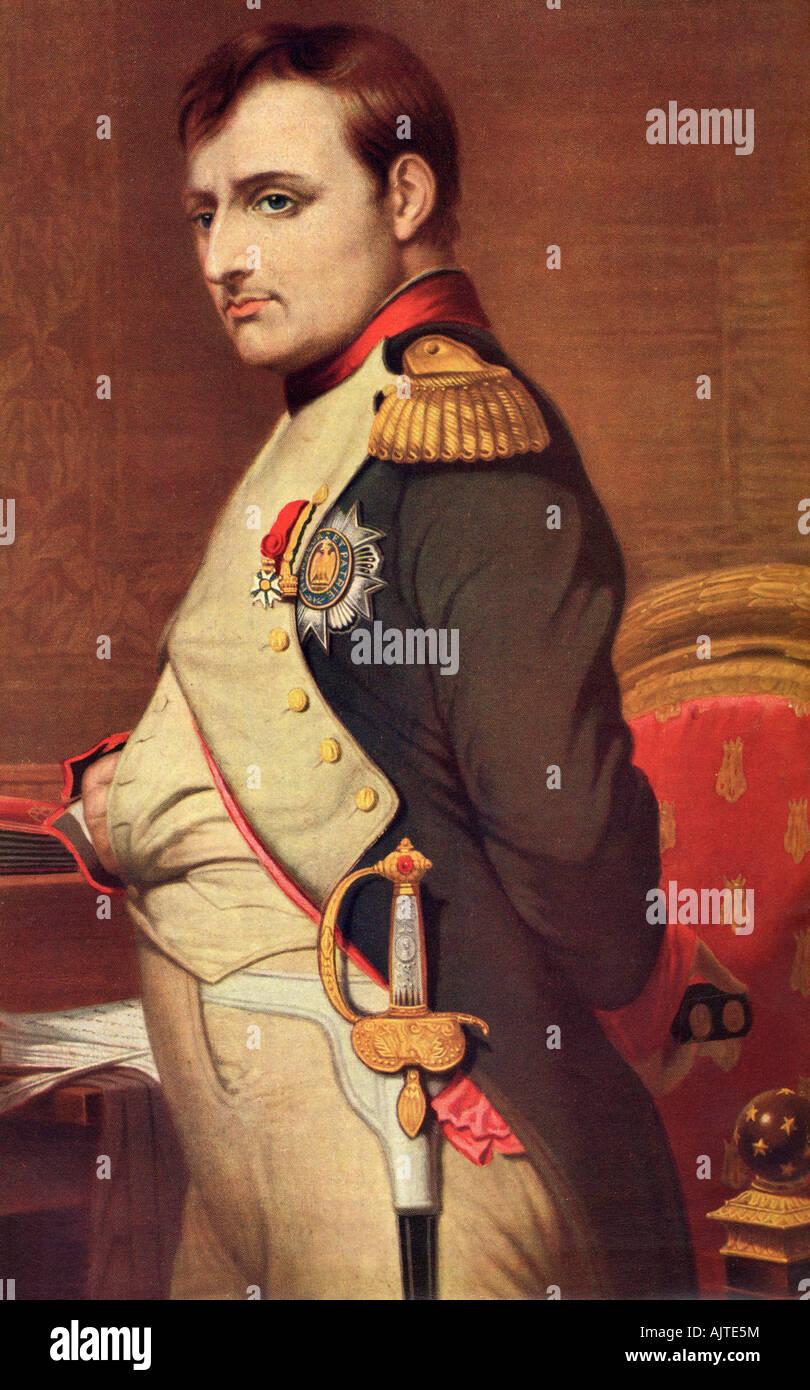 Napoléon Bonaparte, 1769 – 1821. French statesman and military leader. - Stock Image