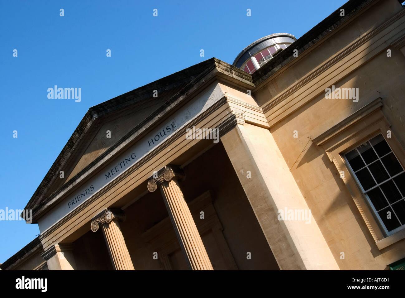 Friends Meeting House on York Street in Bath Somerset UK - Stock Image