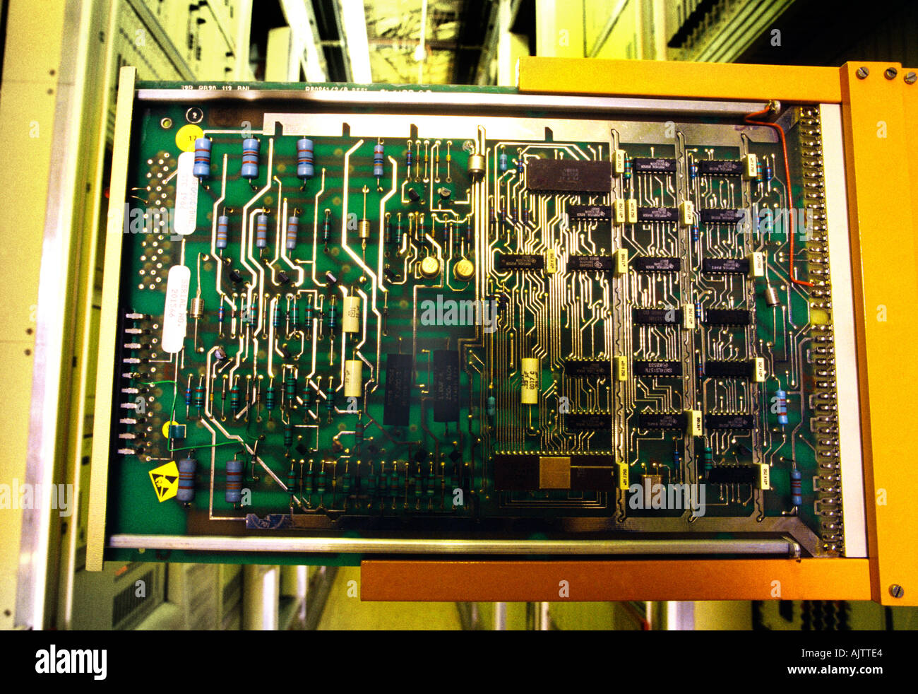 Fabulous Telephone Exchange Circuit Board Stock Photo 4835555 Alamy Wiring Digital Resources Attrlexorcompassionincorg