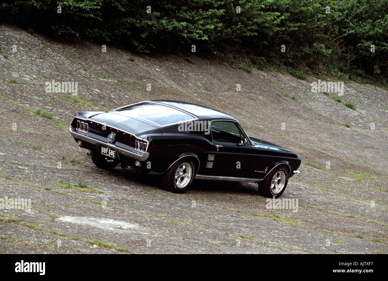 Ford Mustang Fastback >> Ford Mustang Fastback Of 1967 Stock Photo 4836086 Alamy
