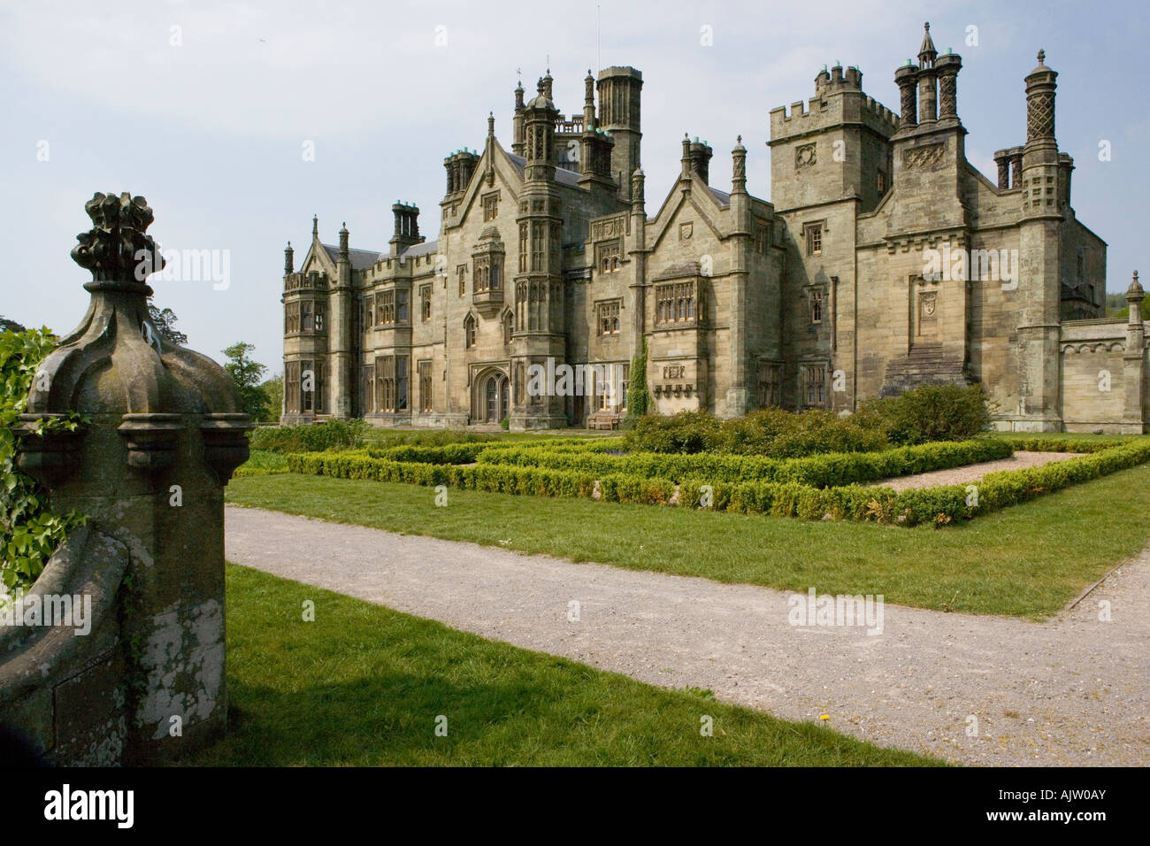 Margam Castle Mansion House Tudor Gothic Style 1830
