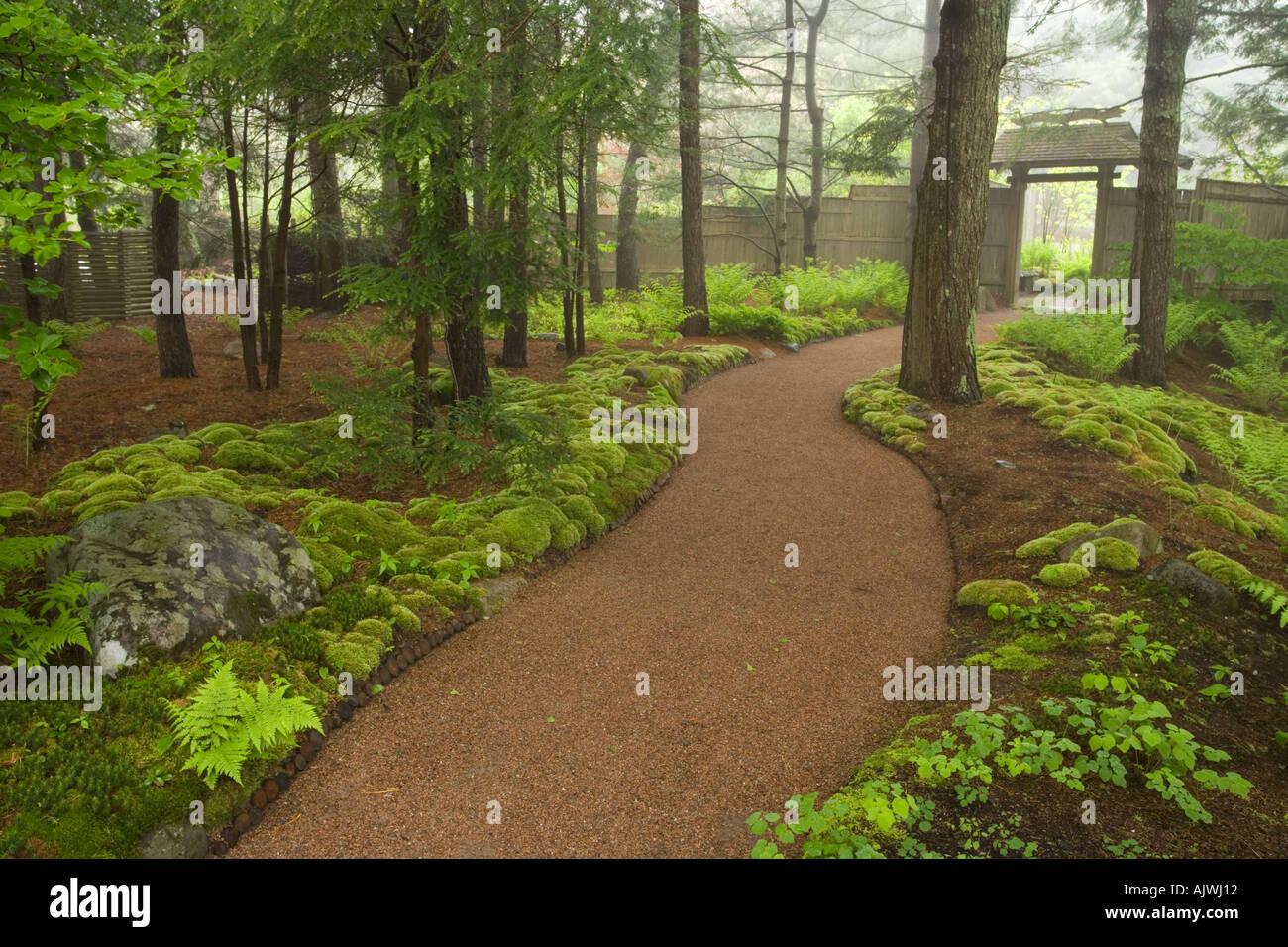 Asticou Azalea Gardens in Northeast Harbor Maine Near Acadia ...