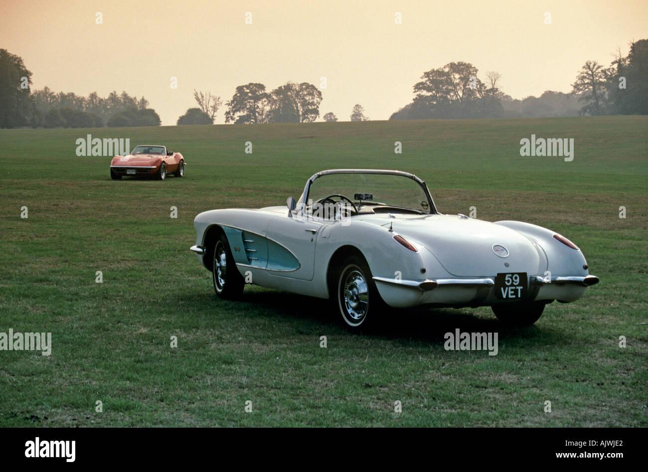 Chevrolet Corvette Of 1959 Keywords 1950s 50s 1950 S 50 S Fifties Stock Photo Alamy