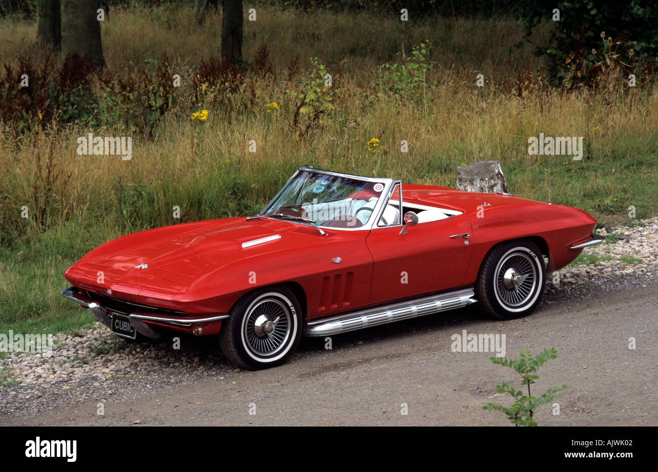 1963 Corvette Stingray >> Chevrolet Corvette Stingray Convertible 1963 to 1967. Keywords 1960s Stock Photo: 4837121 - Alamy