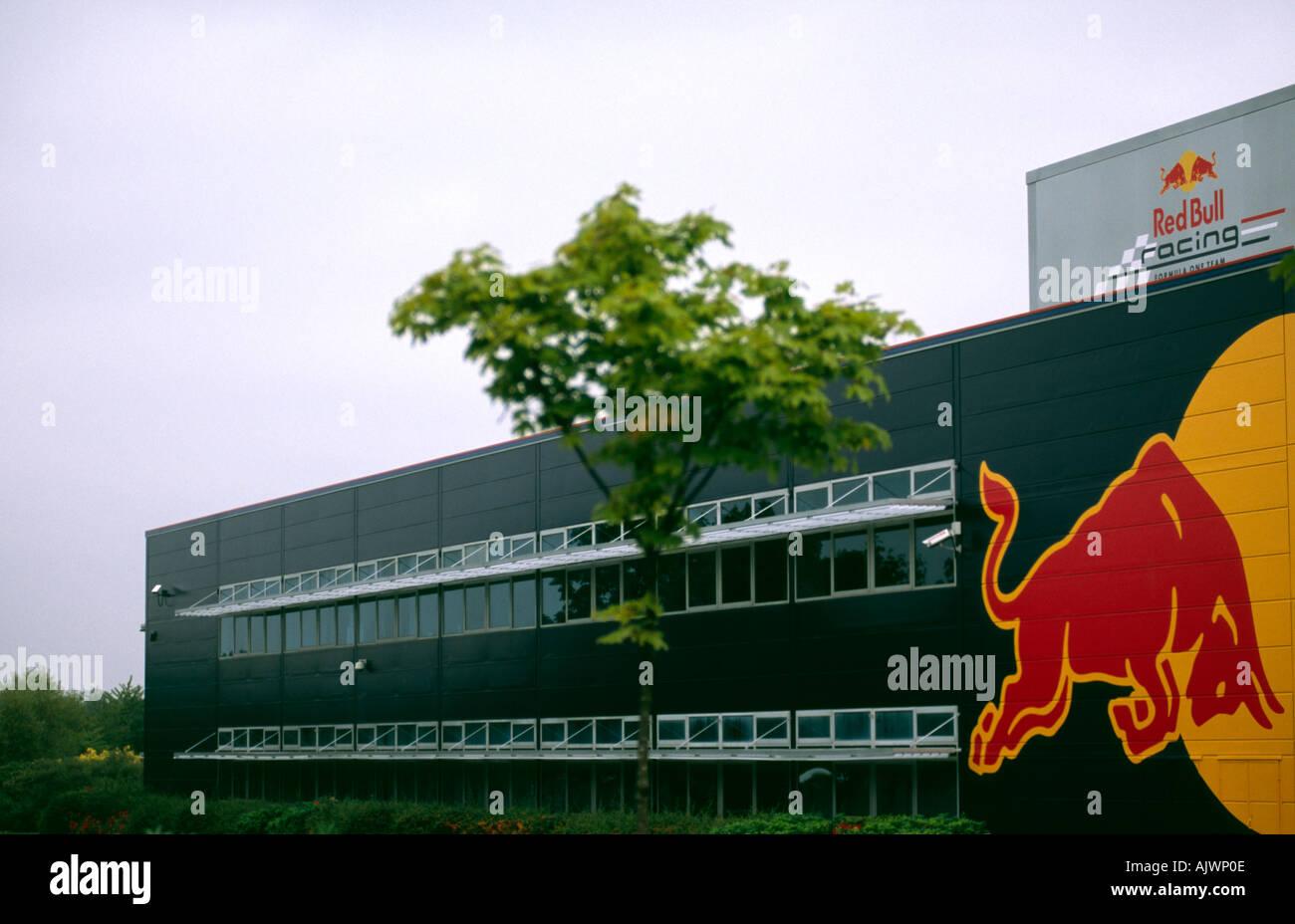 PICTURE CREDIT DOUG BLANE Red Bull Formula One F1 Racing British Grand Prix Head Quaters HQ Milton Keynes Stock Photo