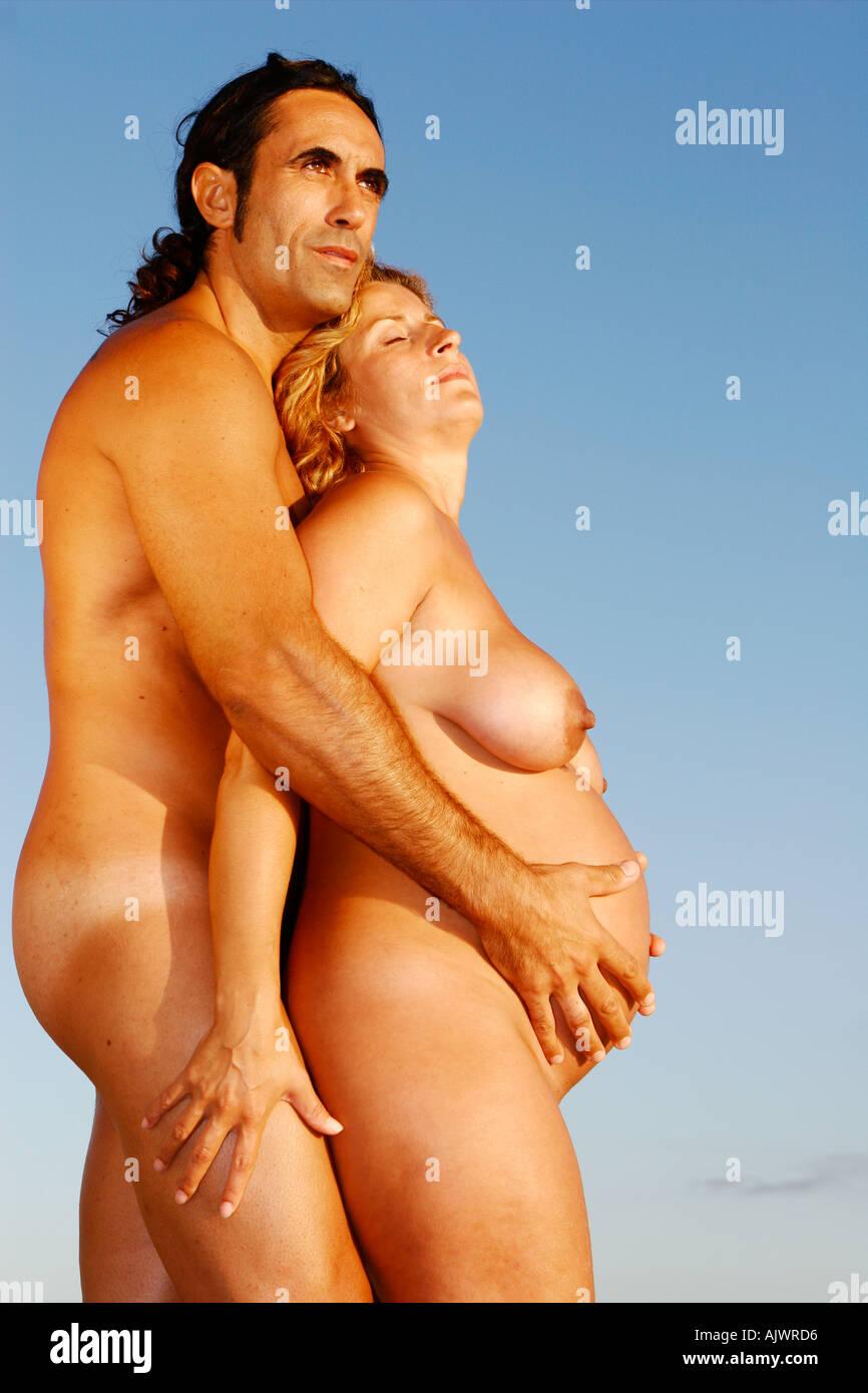 sex in nude beach pregnant