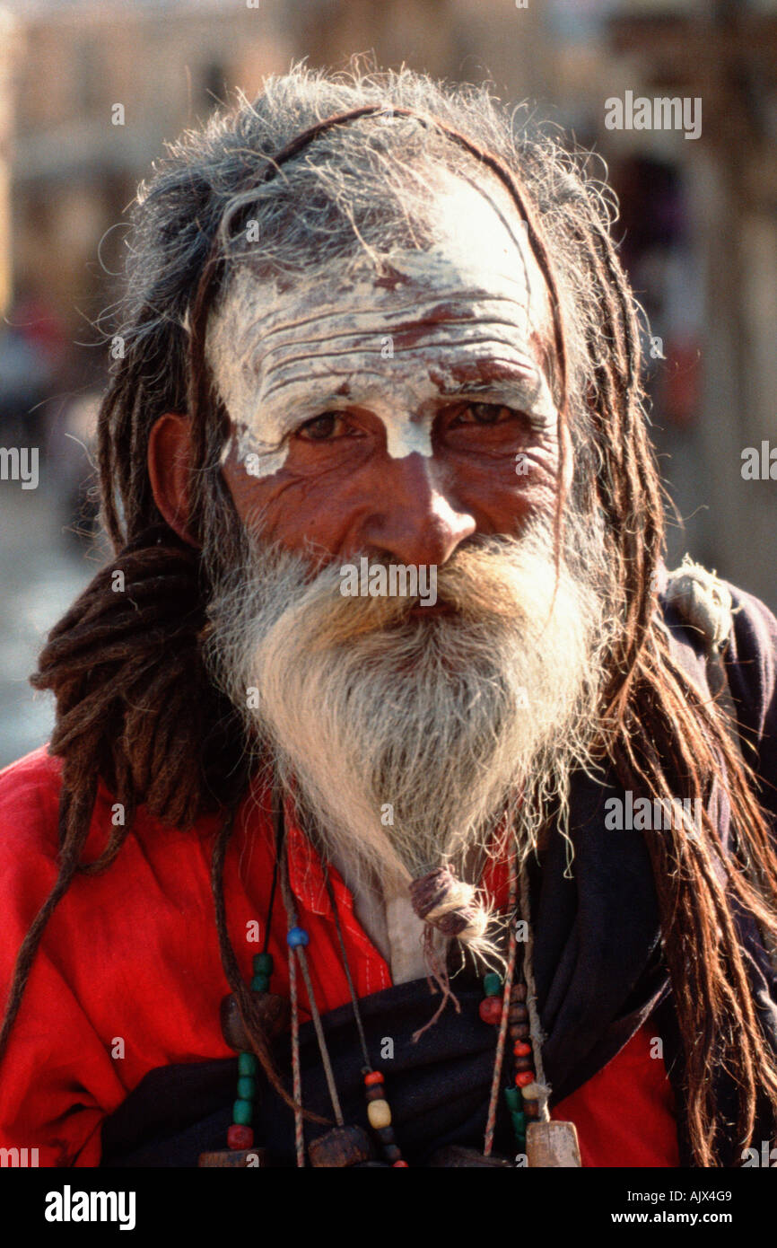 Ascetic - Stock Image