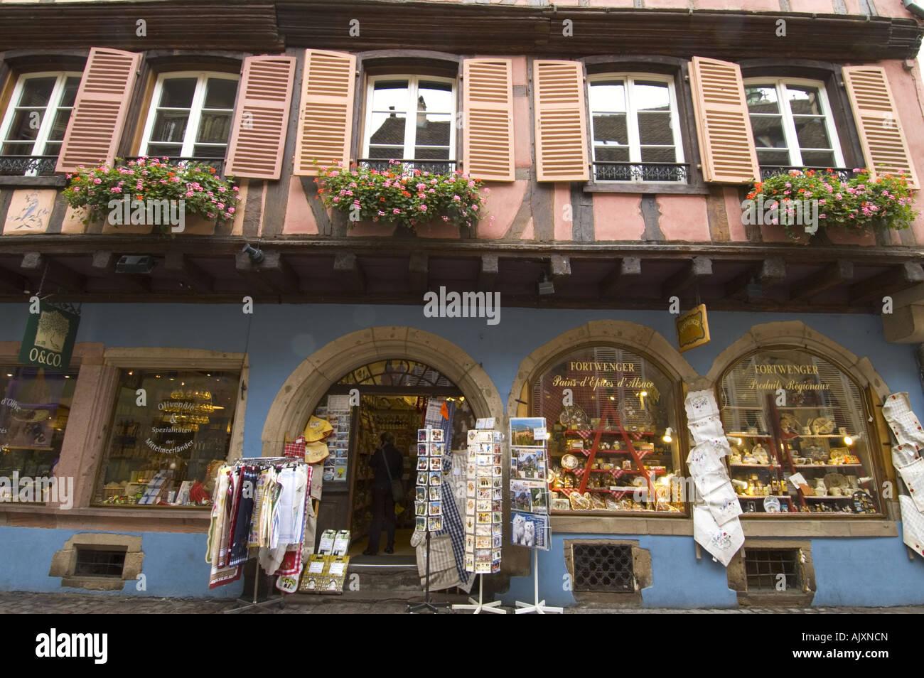 hot sale online c7ede bb283 Souvenir shop at colmar, Alsace, France Stock Photo ...