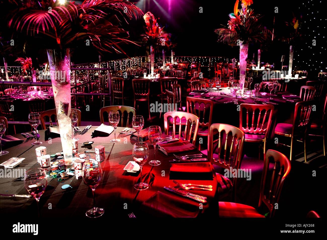 Party venue - Stock Image