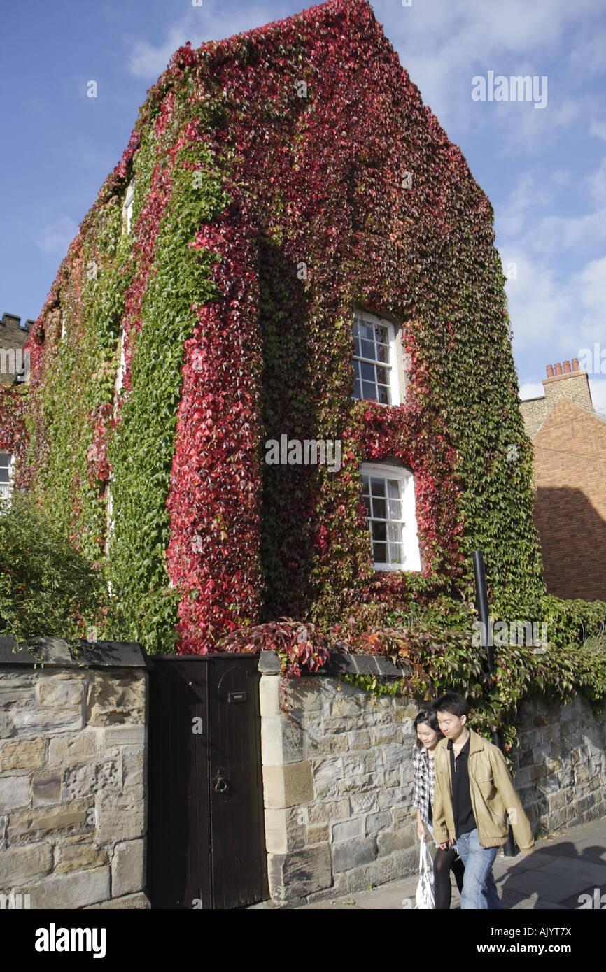 England Uk Durham City University College The Masters House Ivy
