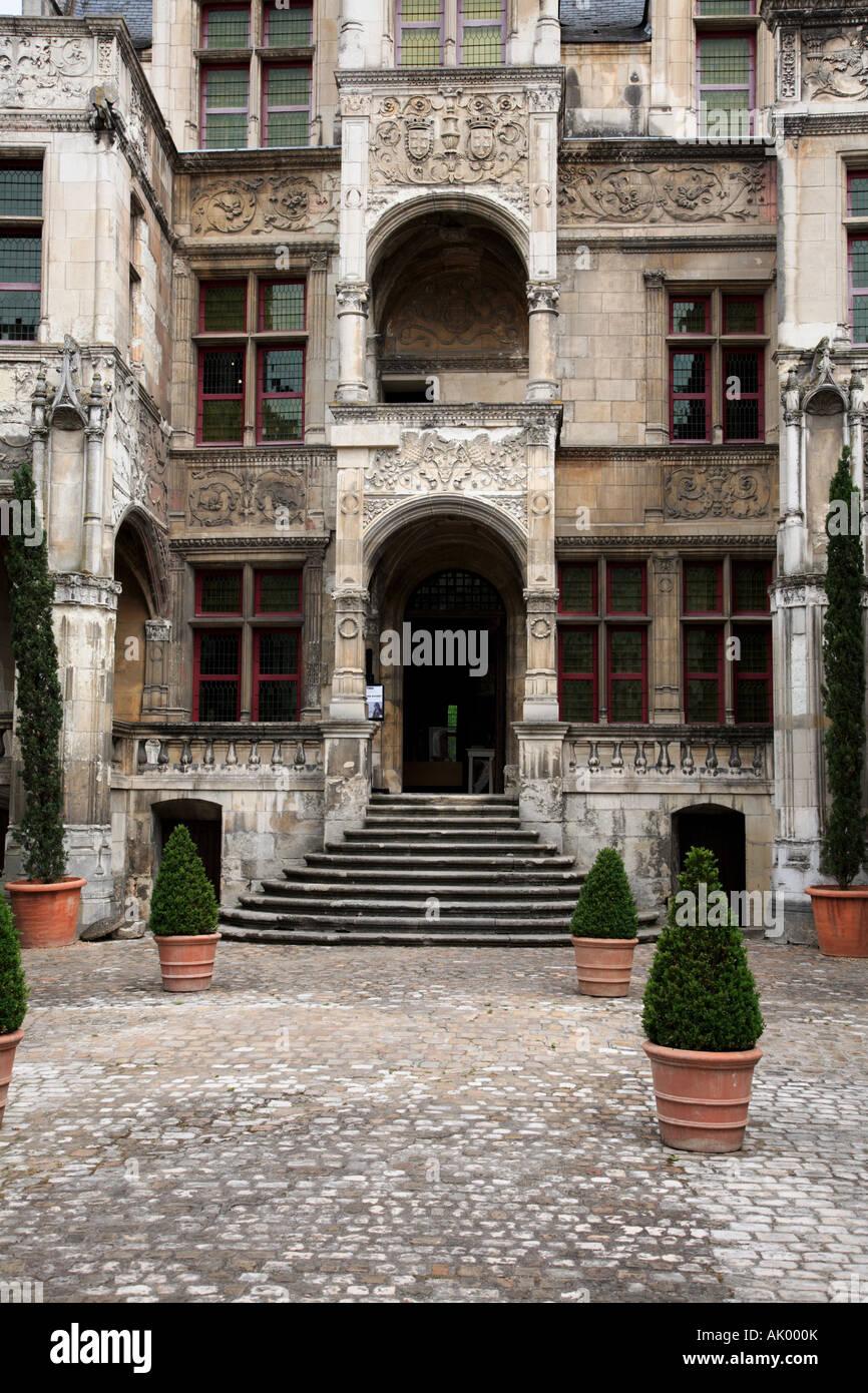 The Renaissance Hôtel Gouin at Tours Indre et Loire Centre France - Stock Image