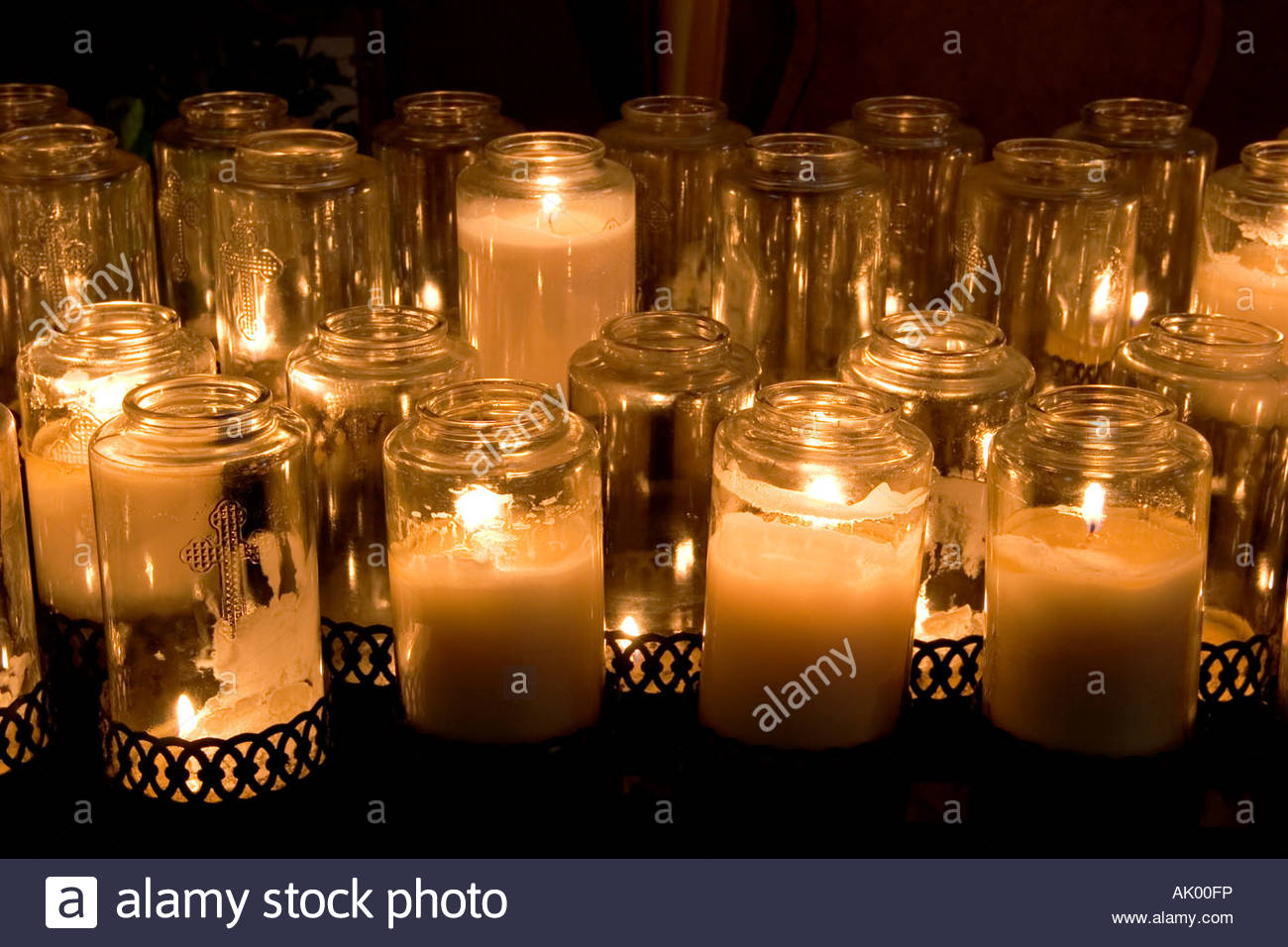 Devotional Prayer Candles Mission San Juan Bautista