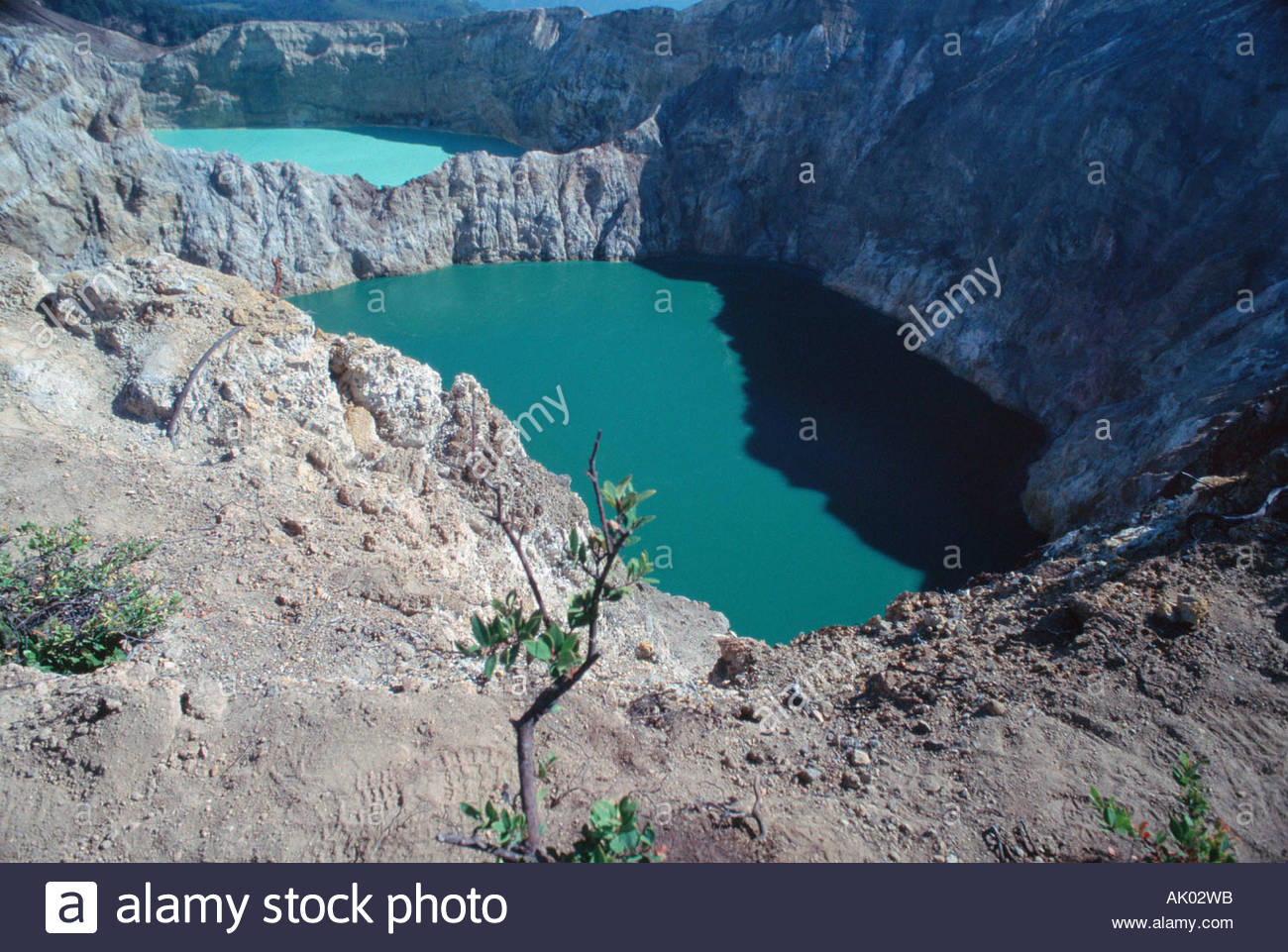 Tourquoise Lake and Red Lake / Tuerkissee und Roter See - Stock Image