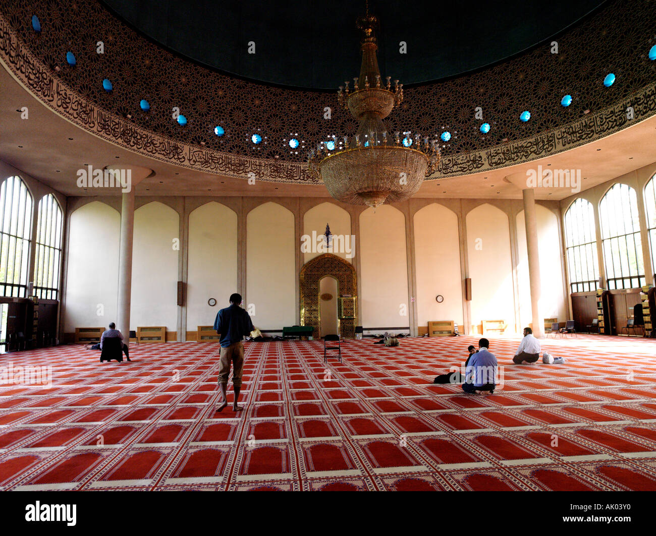 Regents Park London England London Central Mosque Stock Photo