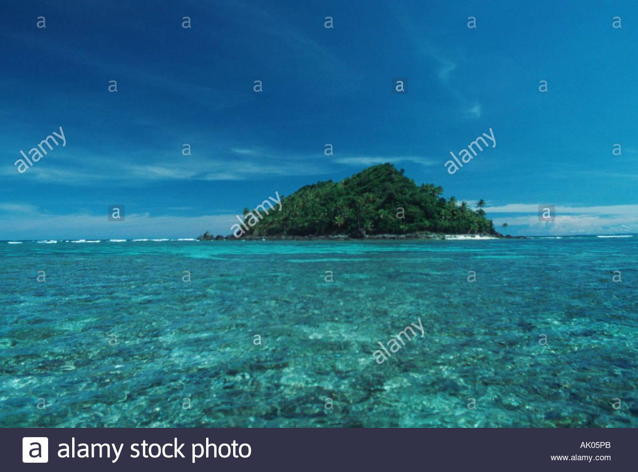 Mabuntok Island - Stock Image
