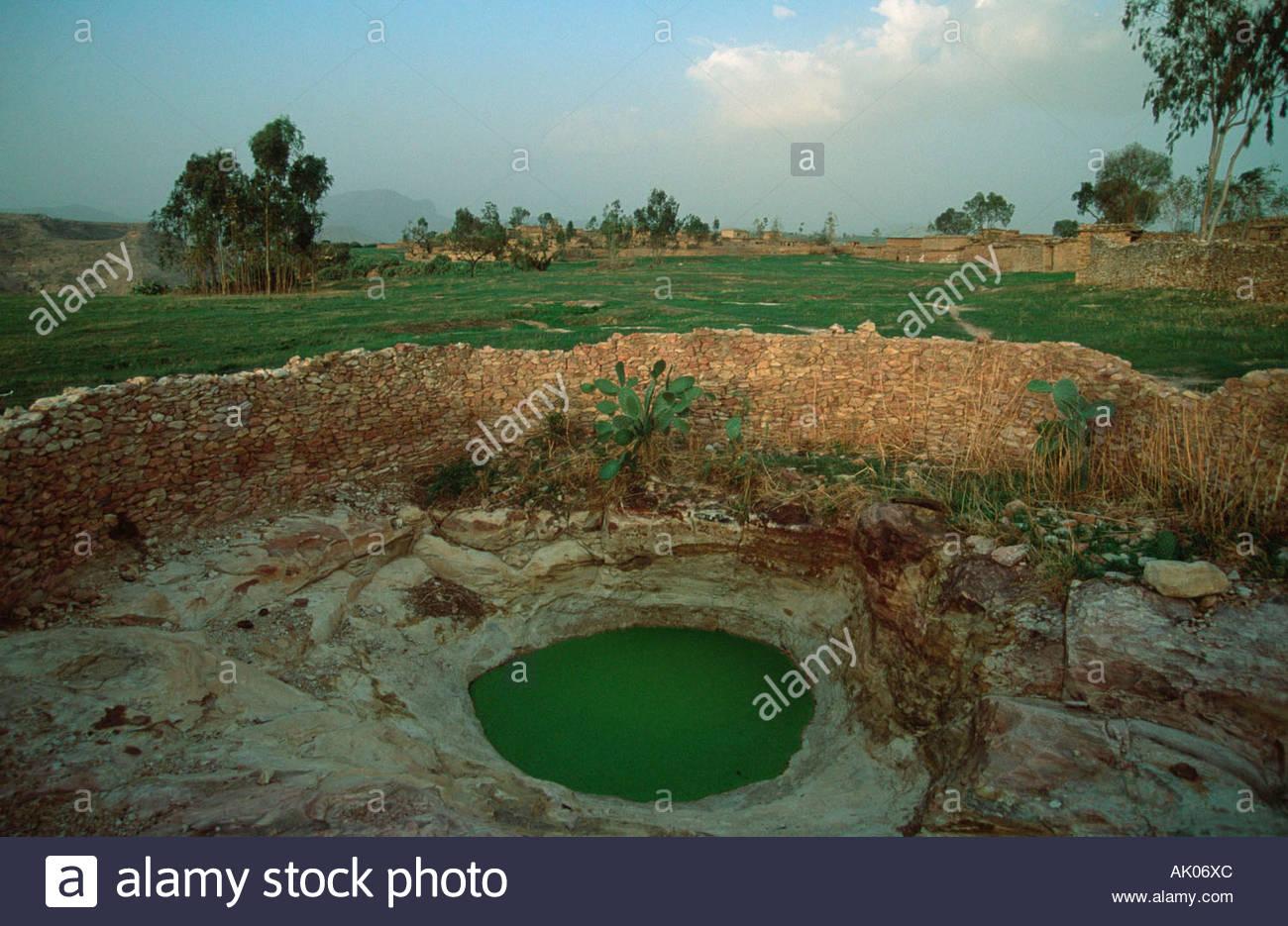Water cistern / Bizet / Wasser-Zisterne - Stock Image