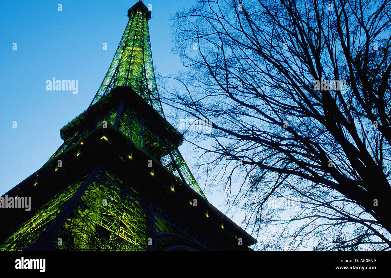 Eiffel Tower / Eiffelturm - Stock Image
