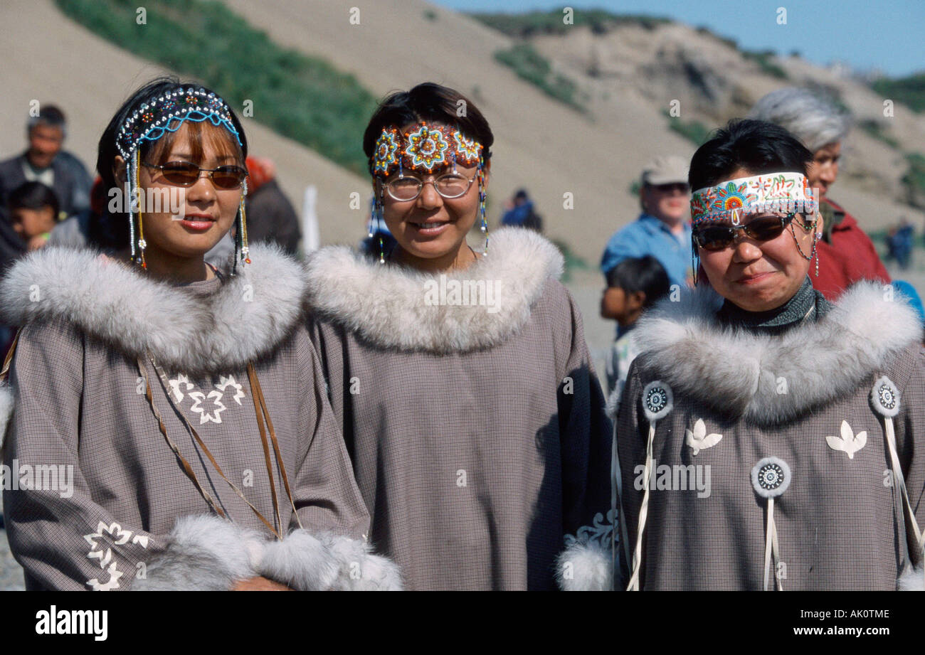 Chukchi women / Lorino Stock Photo - Alamy