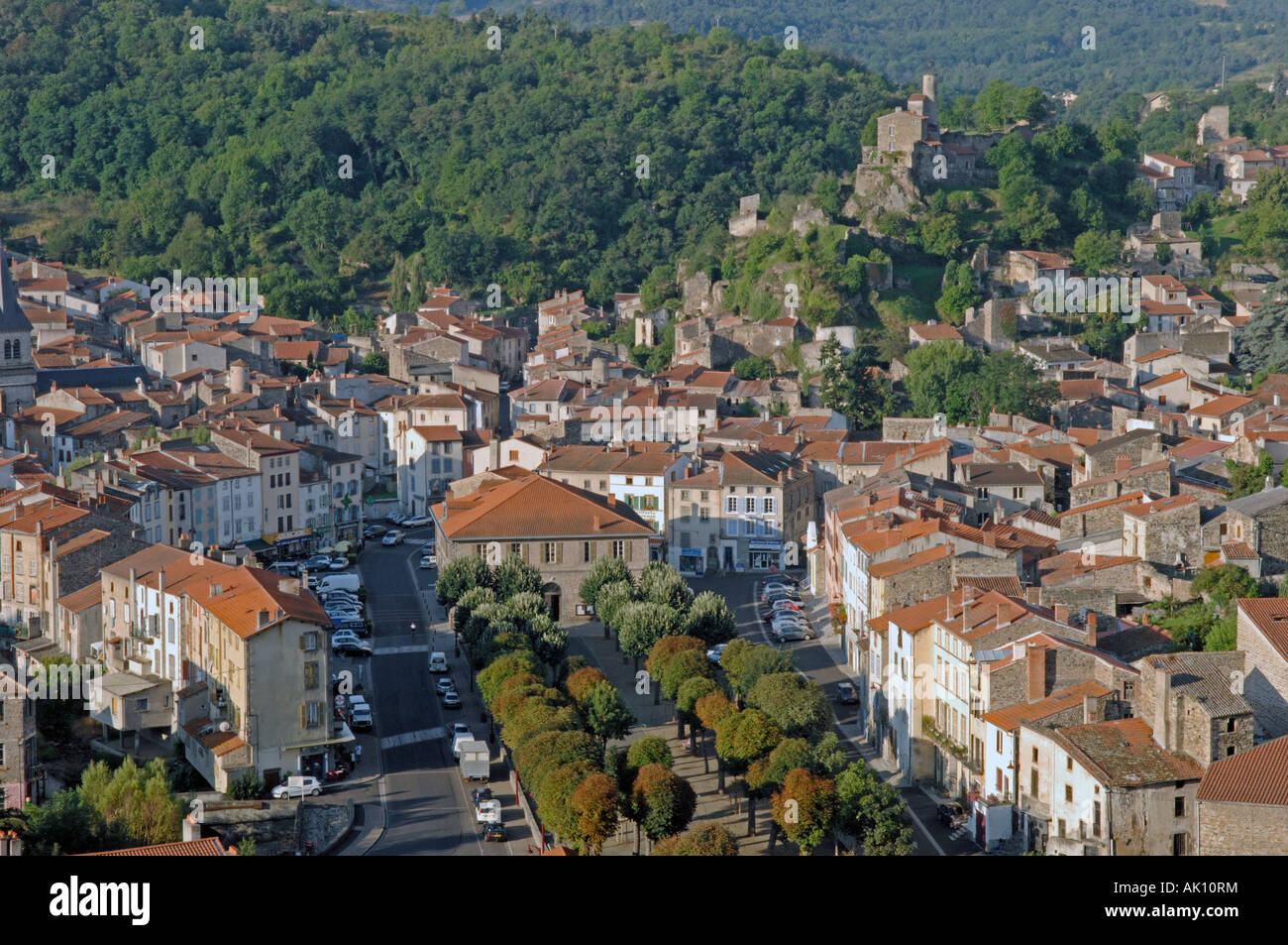 Champeix in the Puy de Dome 63 departement of France Stock ...