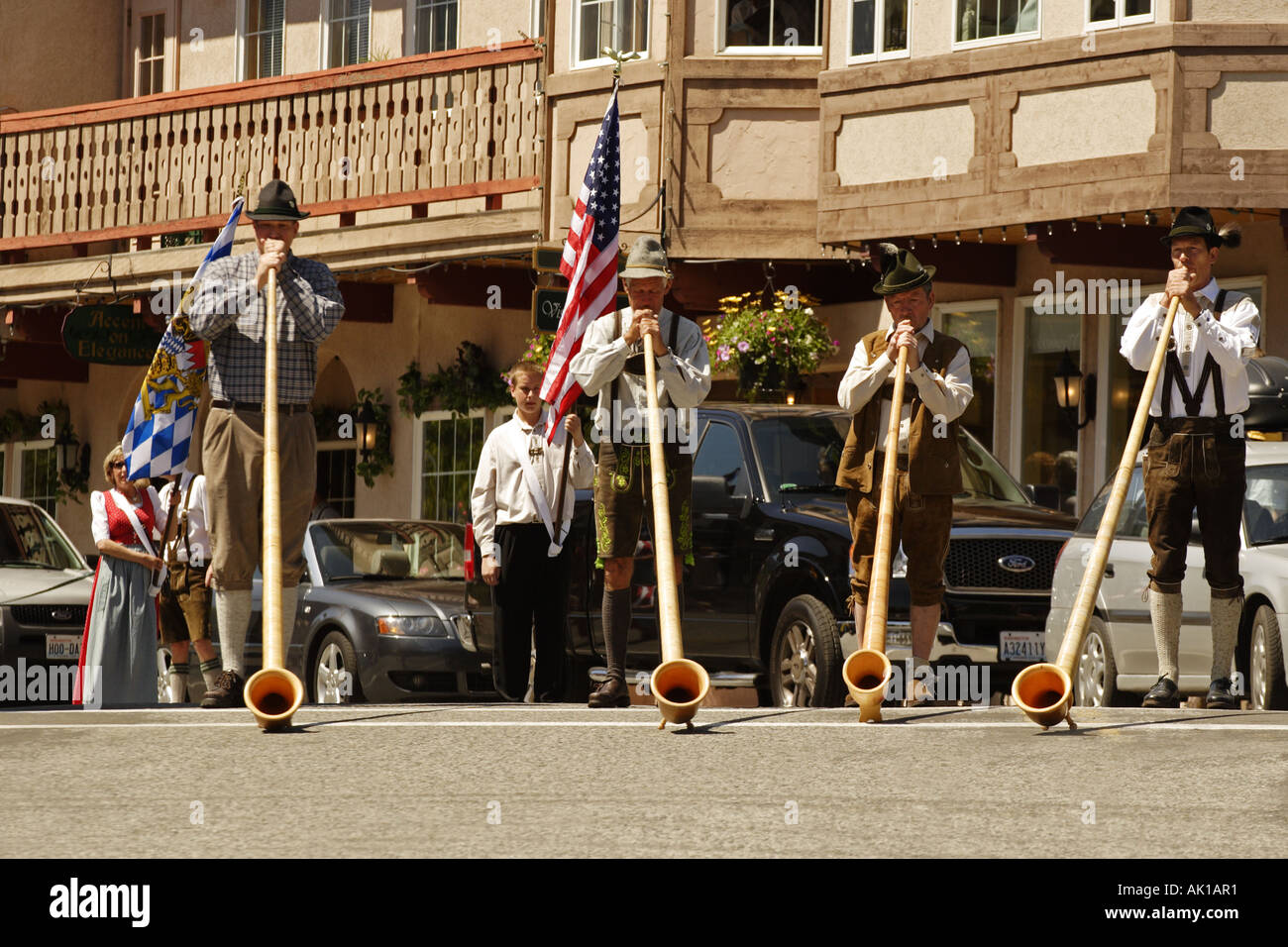 Leavenworth Oktoberfest High Resolution Stock Photography And Images Alamy