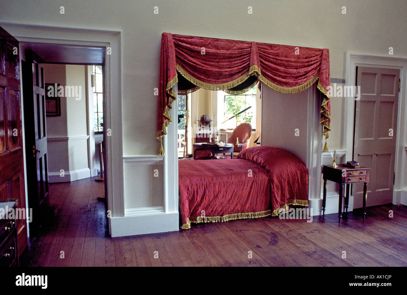 Attrayant President Jefferson T Bedroom At Monticello Home Of Thomas Jefferson Third  President Of The United States