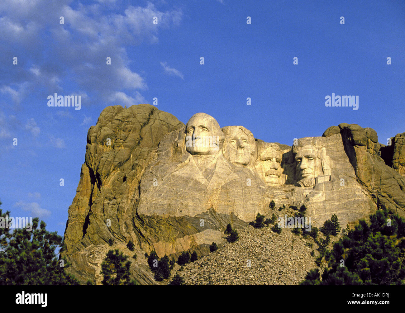 Mount Rushmore National Historic Memorial near Rapid City Stock Photo