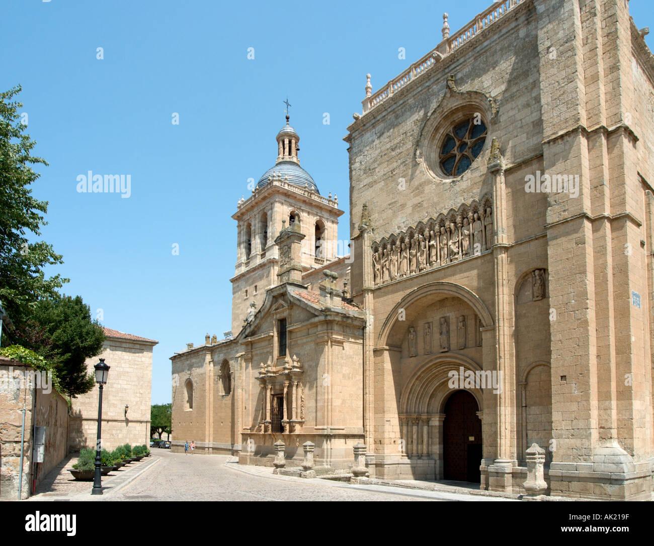 Cathedral, Ciudad Rodrigo, Castilla y Leon, Spain - Stock Image