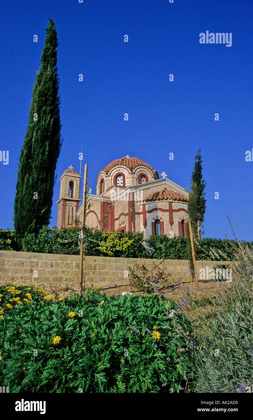 St Agios Georgios Church near Paphos Cyprus - Stock Image