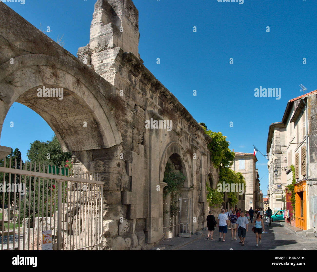 Theatre Antique in Arles, Provence, France - Stock Image