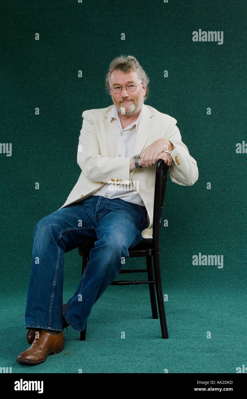 Author Iain Banks at the Edinburgh International Book Festival 2006. - Stock Image