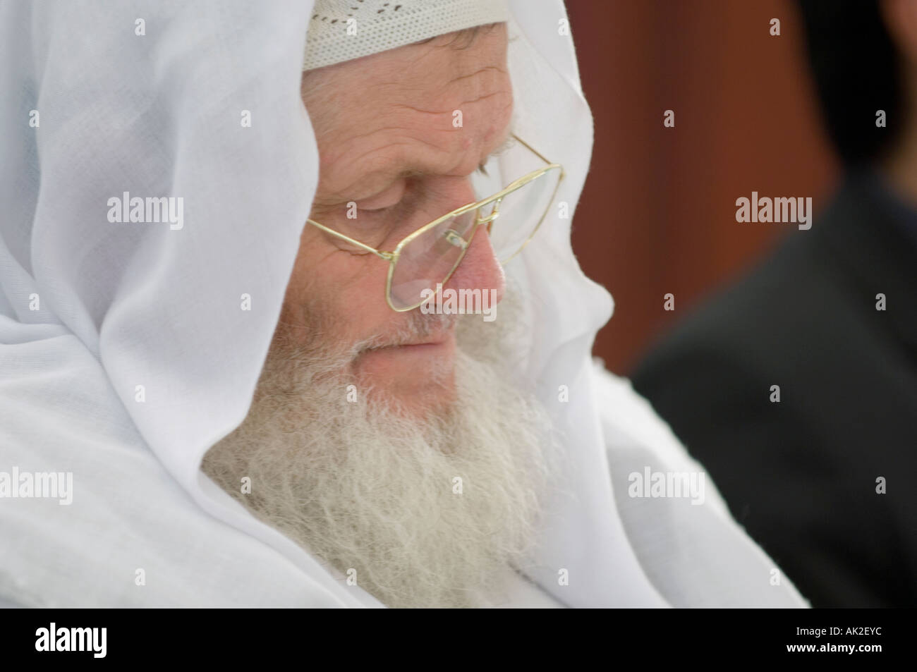 Muslim scholar Sheik Yusuf Estes - Stock Image