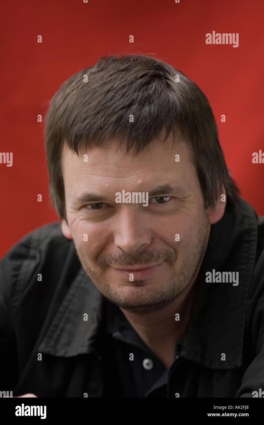 Author Ian Rankin at Edinburgh International Book festival 2006 - Stock Image