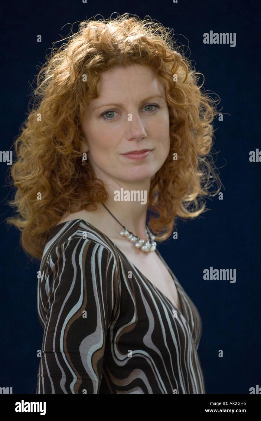 Young historian and broadcaster Vanessa Collingridge at Edinburgh International Book Festival 2006 - Stock Image