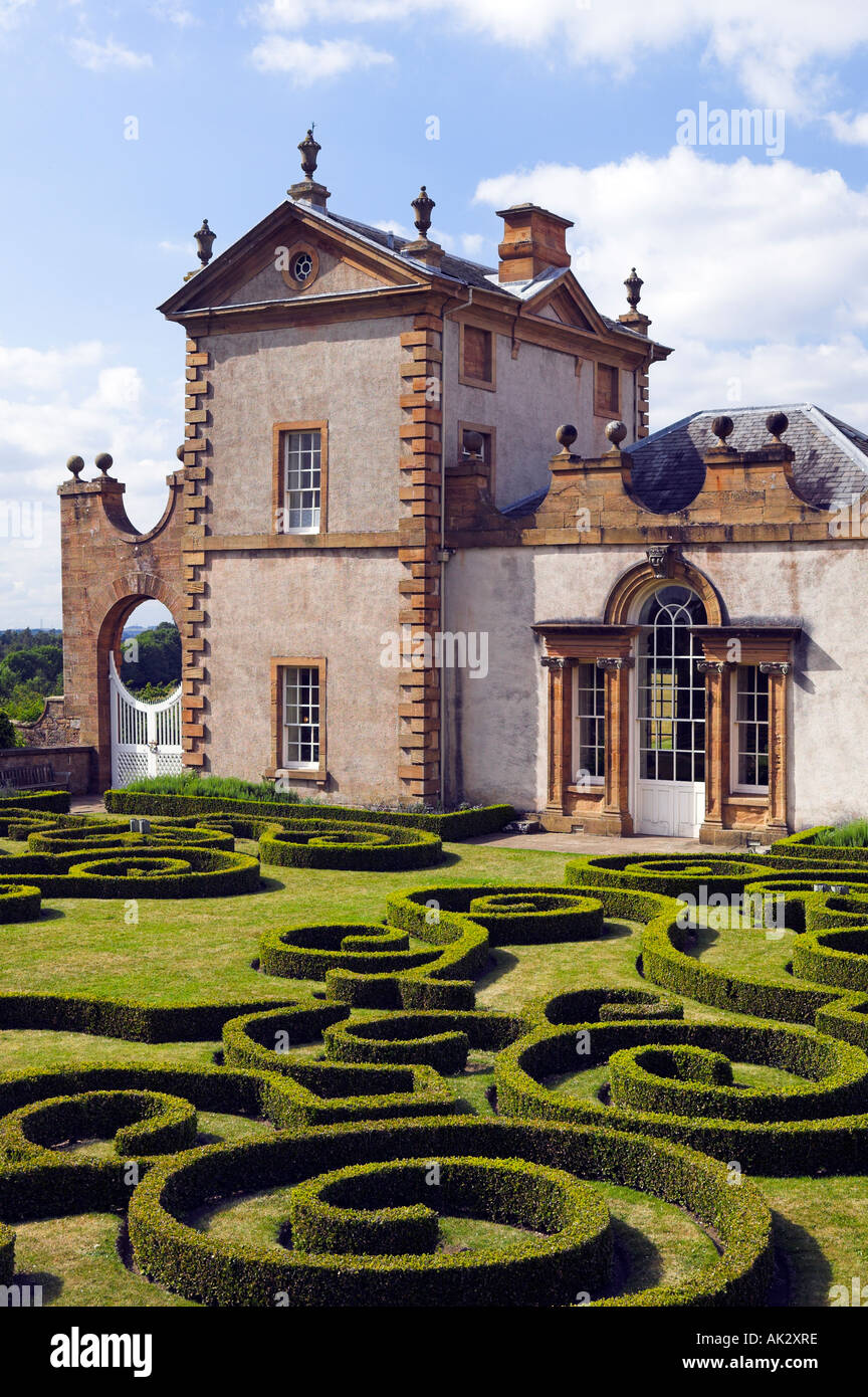 Chatelherault Hunting Lodge near Hamilton, South Lanarkshire, Scotland - Stock Image