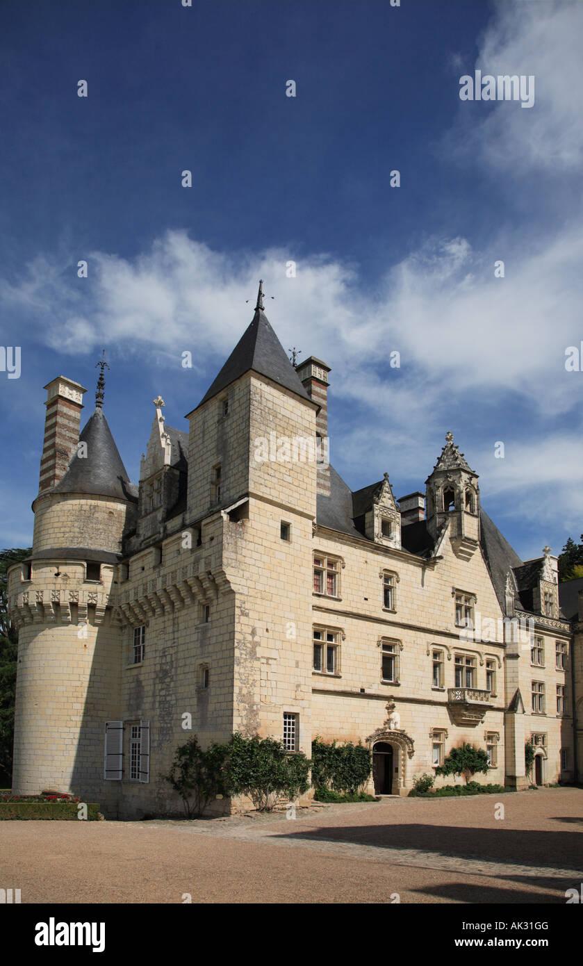 The Château d'Ussé - Stock Image