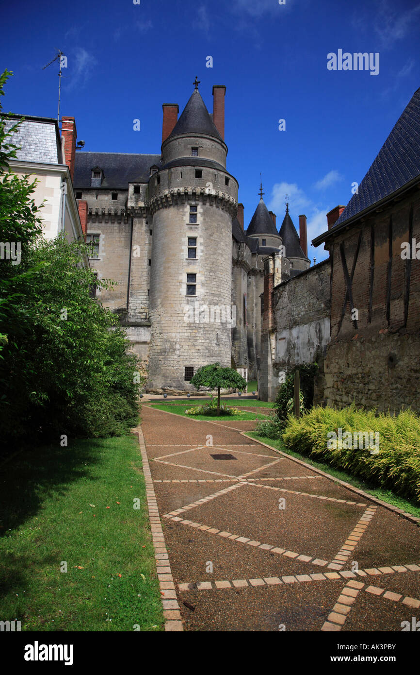 The Château at Langeais - Stock Image