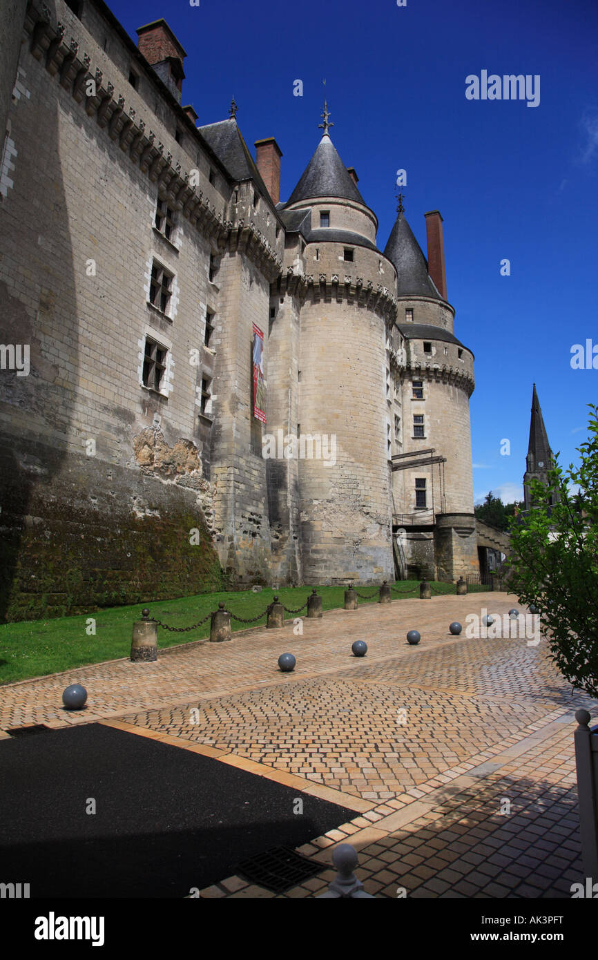 The Château at Langeais Stock Photo