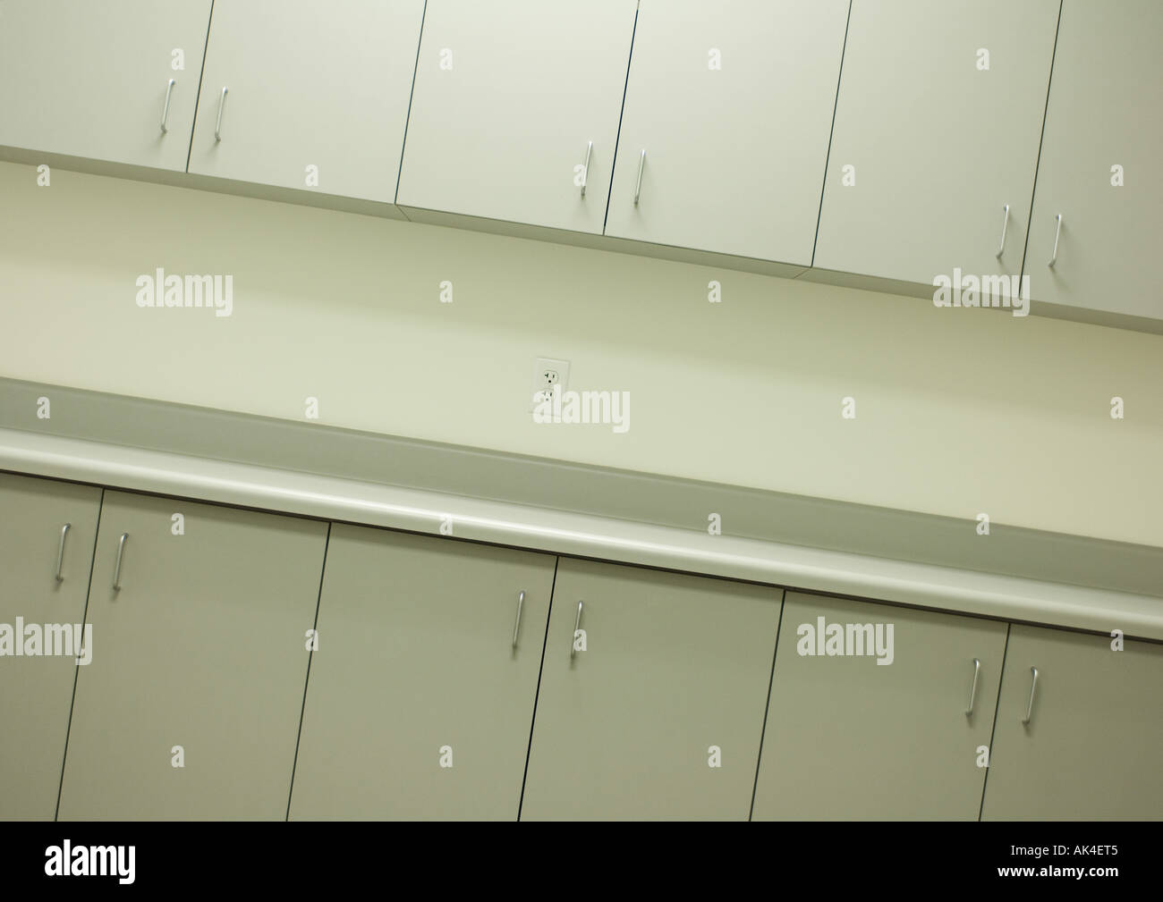 Cabinets - Stock Image