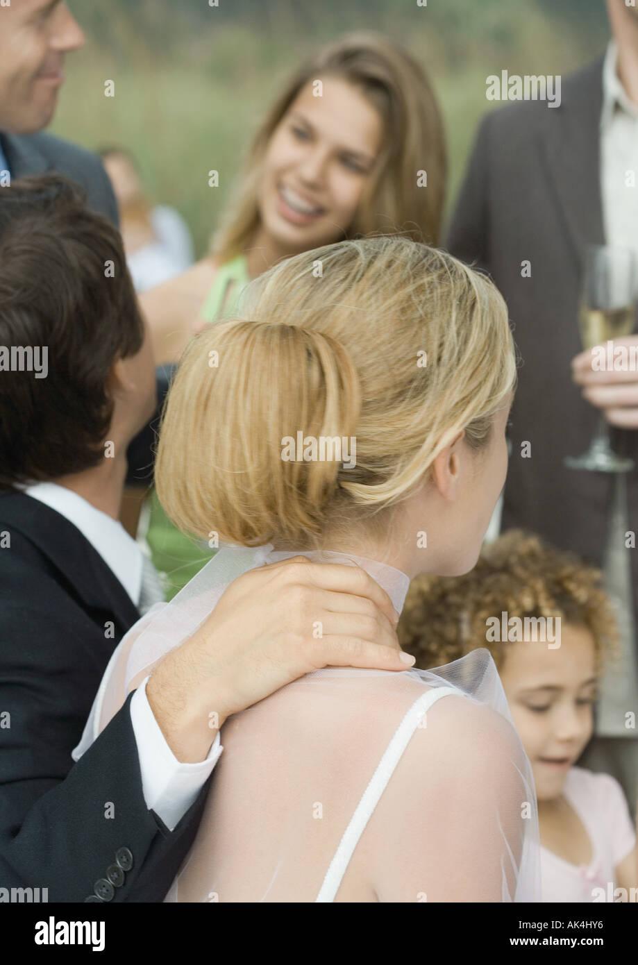 Wedding scene - Stock Image