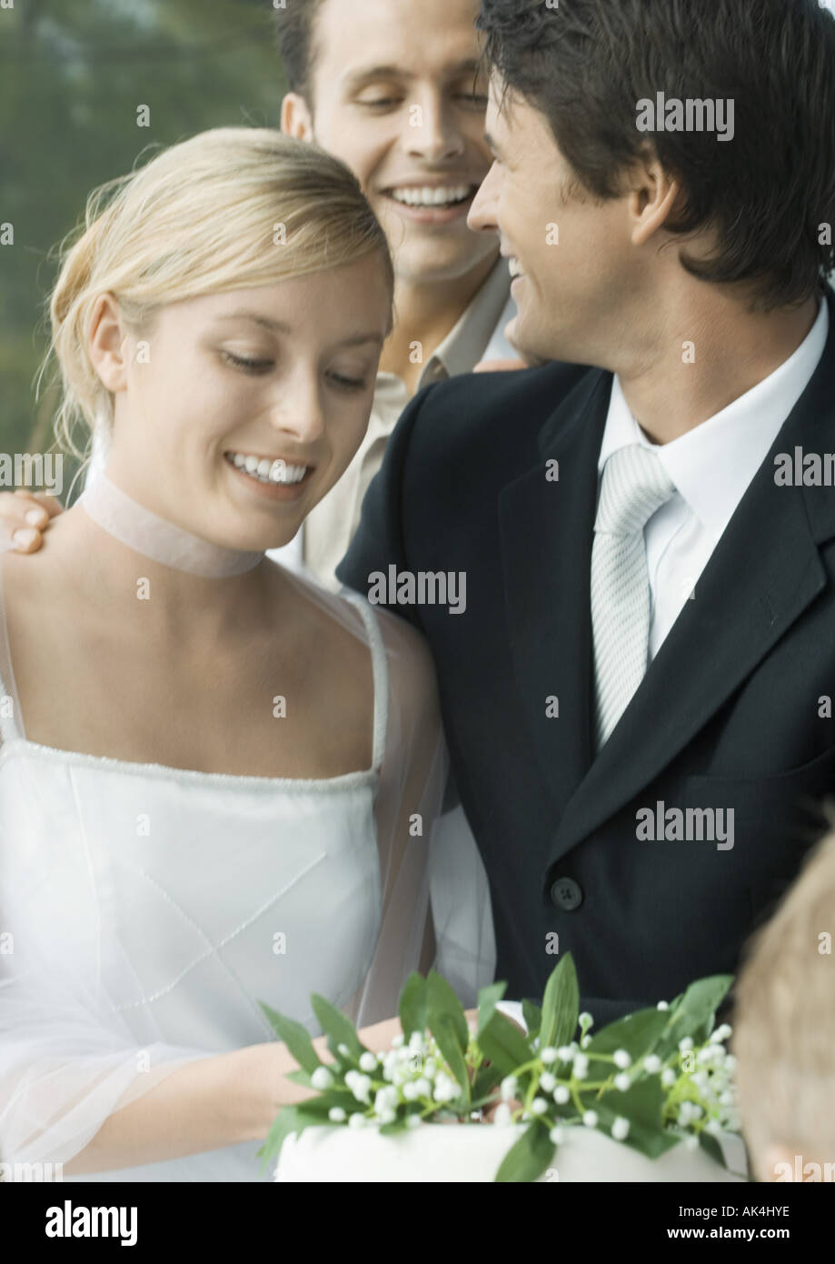 Wedding scene Stock Photo
