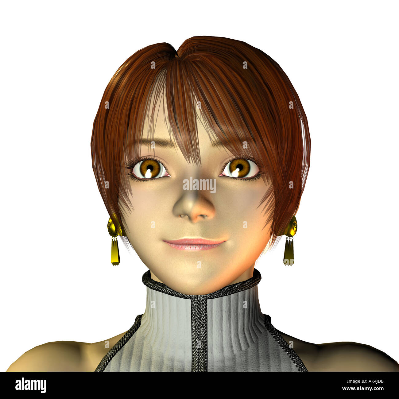 Terai Yuki virtual star in Japan - Stock Image
