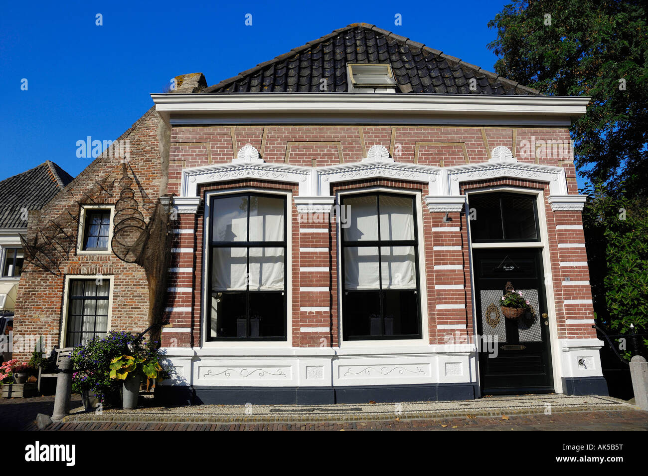 House, Elburg - Stock Image