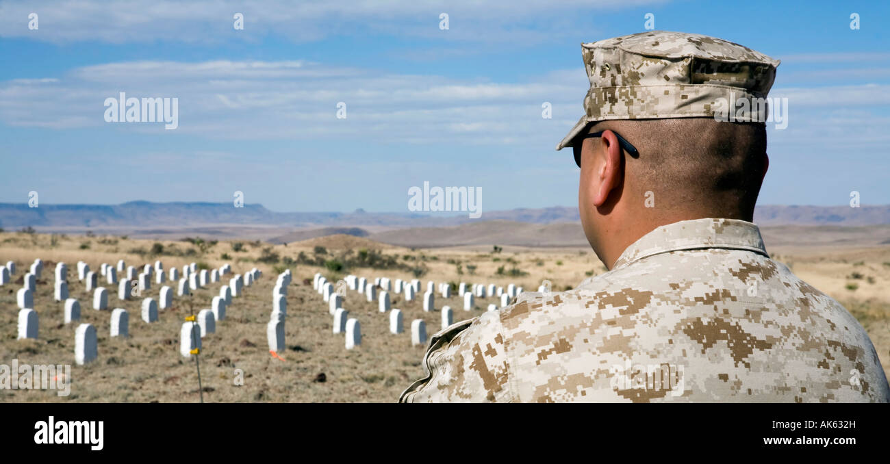 Arlington Southwest the first permanent Veterans for Peace memorial - Stock Image